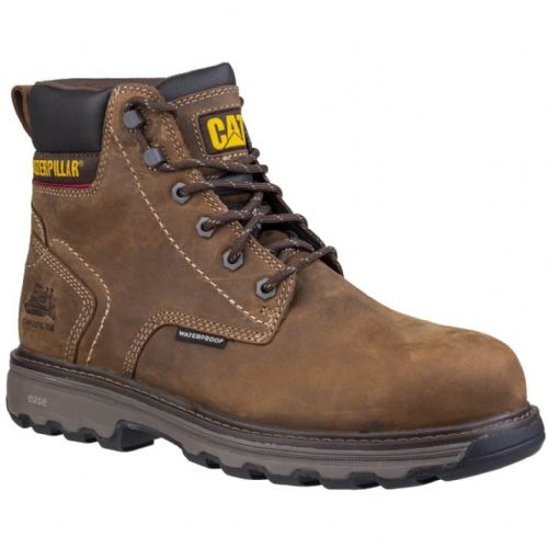 Caterpillar Precision Brown Safety Boots